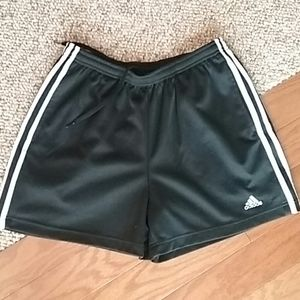 Black/White Adidas Shorts size Medium